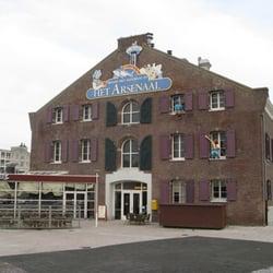 Het Arsenaal, Vlissingen, Zeeland, Netherlands