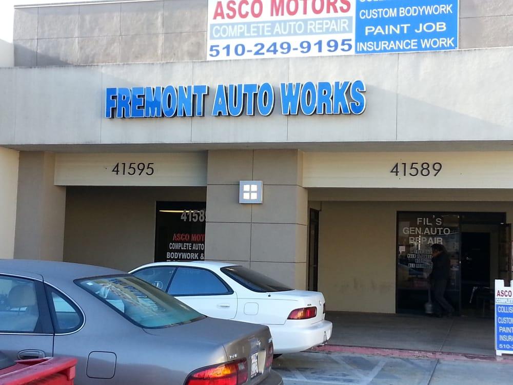 Fremont auto works auto repair fremont ca united for Fremont motors service department