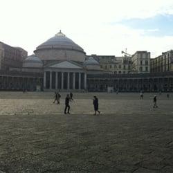 Piazza del Plebiscito, Naples, Napoli, Italy