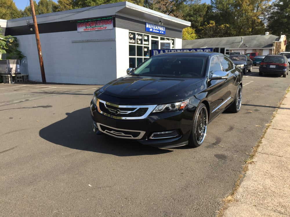 2014 Chevy Impala Ltz 22 Quot Forgiato Staggered Suntek