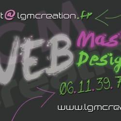 lgmcreation - création site internet / web, Chelles, Seine-et-Marne, France