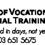 Academy of Vocational and Professional Training Ltd