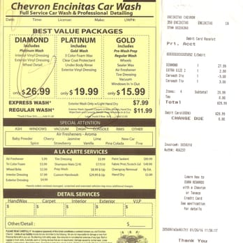 Encinitas Car Wash And Chevron 22 Photos Gas Amp Service