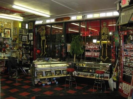 Inside atomic tattoos milwaukee yelp for Tattoo shops milwaukee