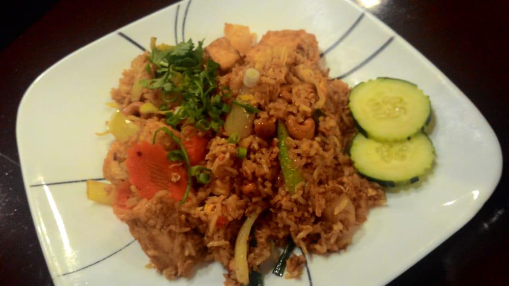 Fried Tofu Tofu Pineapple Fried Rice