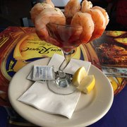Trepanier's Backyard Grill & Bar - The huge shrimp coctail - Fond Du Lac, WI, Vereinigte Staaten