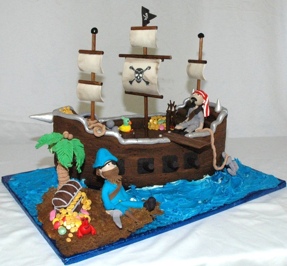 Cabot (AR) United States  city photos : Cakes By Sam cabot, AR, United States. 3D Pirate Ship Cake