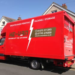 Our large luton removal van for larger…