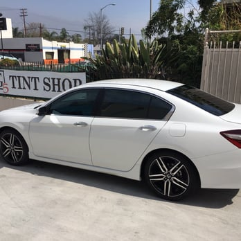 Gallery for 2014 honda accord sport white with tinted for 2014 honda accord white