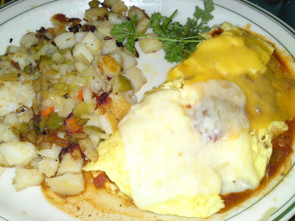 Chile, Potato & Cheese Omelet Recipe — Dishmaps