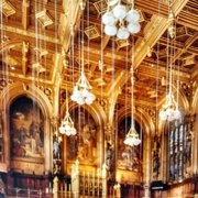 A view of the Gorgeous House of Lords…