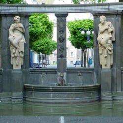 Schuckhardtbrunnen, Bad Nauheim, Hessen
