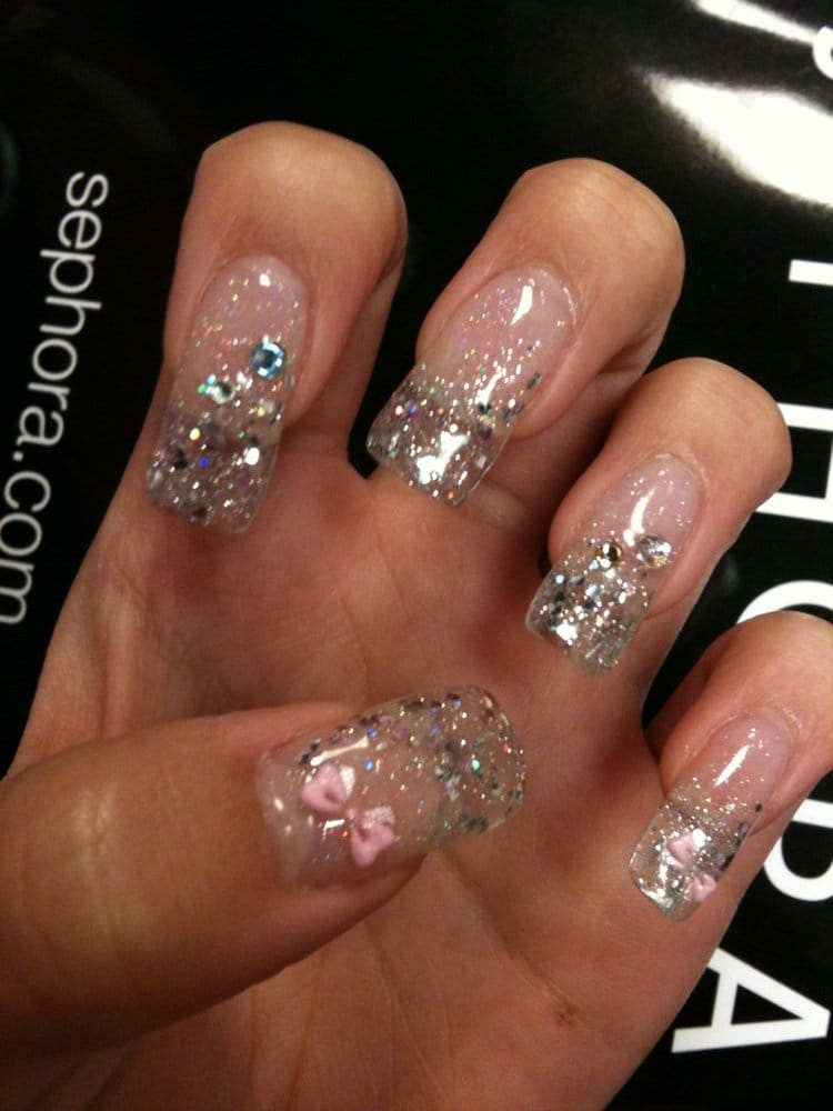 Gel Nail Extensions Clear Clear Gel Extension