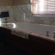 Bathtub with tv!