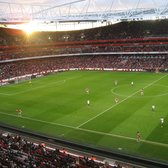 Who says the sun doesn't shine in England?  It does on The Arsenal.