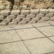 H&J Landscaping Services - stone retaining wall - Fremont, CA, United States