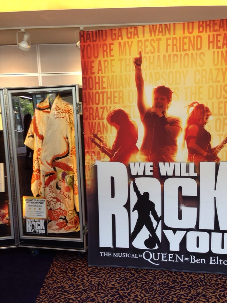 Memorabilia from the Queen musical | Yelp