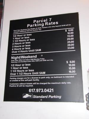 Parcel 7 Parking Garage Parking Boston Ma Yelp