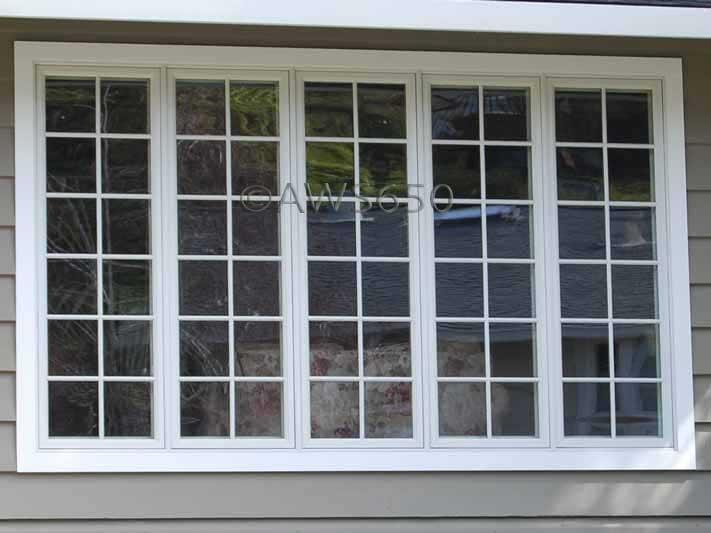 Andersen vinyl clad wood casement window wth s d l grids for Anderson casement windows