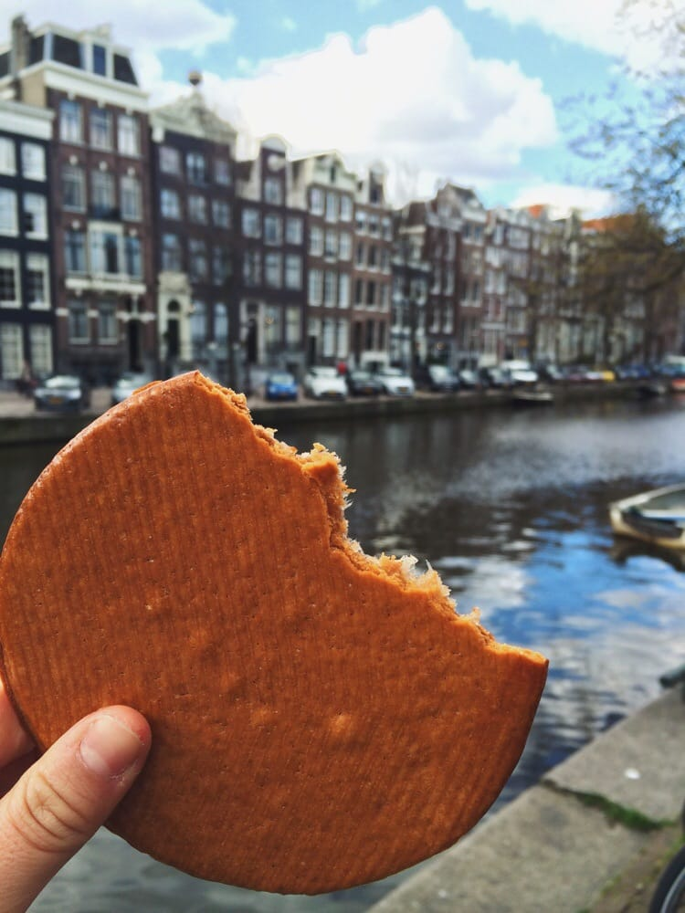 stroopwafel from Lanskroon