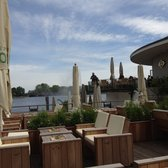 Outdoor patio facing Alster