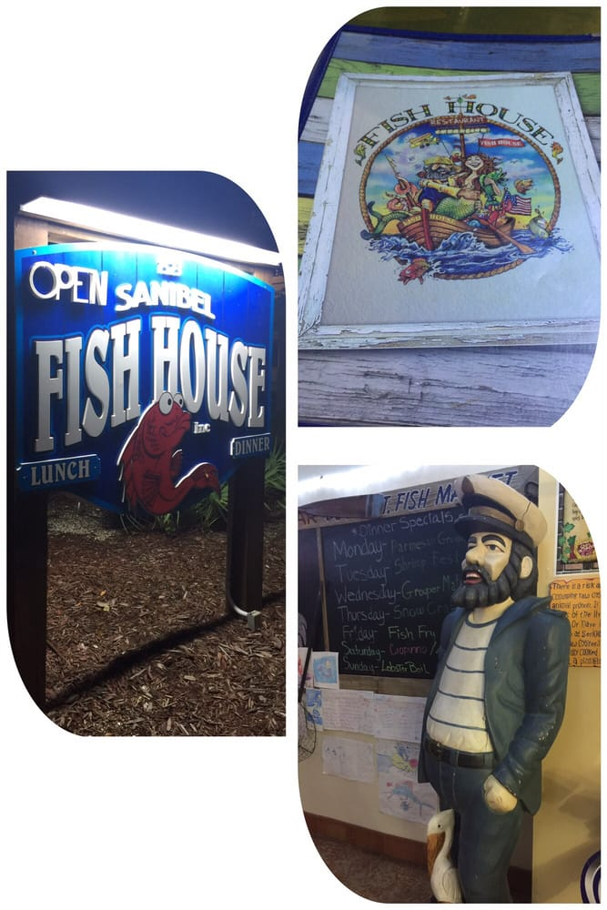 Gemhoy welcome to sanibel fish house serving up the for Sanibel fish house