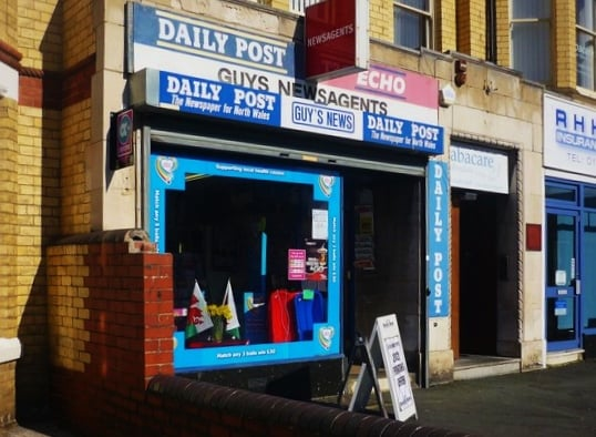 Colwyn Bay United Kingdom  city pictures gallery : Guys Newsagents Colwyn Bay, Conwy, United Kingdom