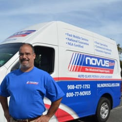 Novus Glass - New Providence, NJ, États-Unis. Novus Auto Glass owner Alex Rodriguez is ready to replace or repair your windshield anywhere in northern New Jersey.