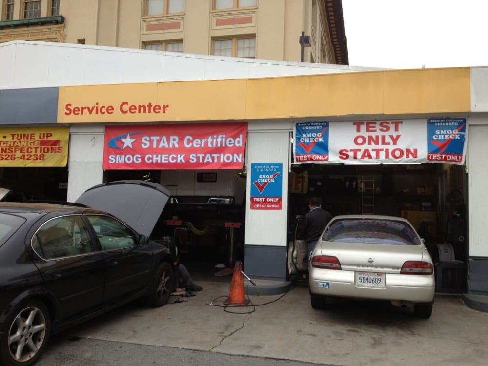 san francisco test only smog motor vehicle inspection