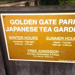 Japanese tea garden golden gate park japanese tea for Japanese tea garden hours