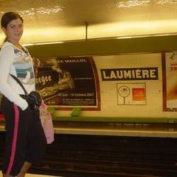 Laumière M5 station, Paris