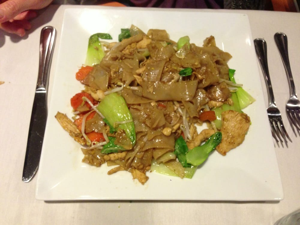The wok fired asian noodles were perfect yelp for Asian fusion cuisine