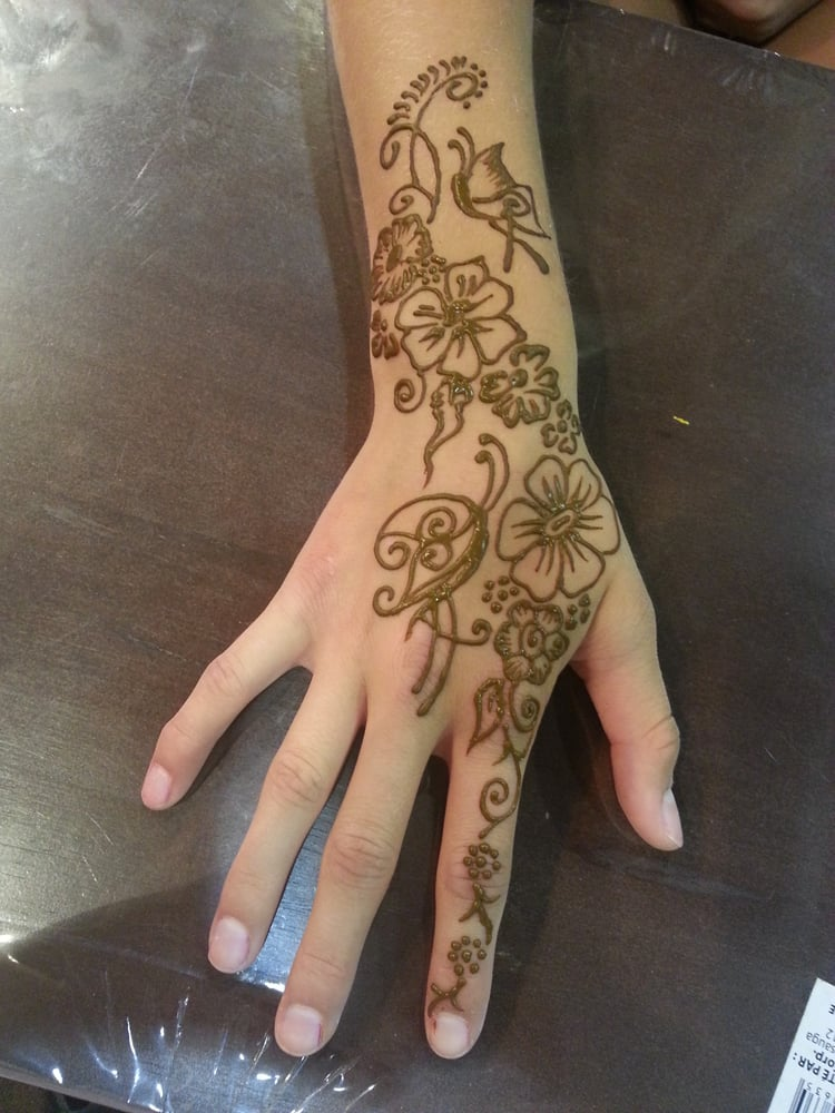 Henna Tattoo Vancouver : Henna jagua temporary tattoo by kalpana joshi