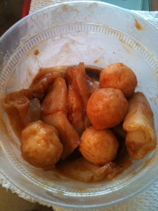 Fish ball fun yelp for Chinese fish balls