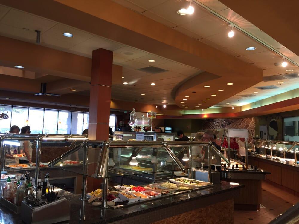 Asian buffet restaurant zen