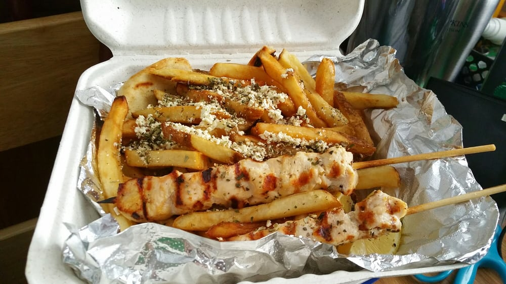 Souvlaki authentic greek cuisine merida chicken for Authentic greek cuisine