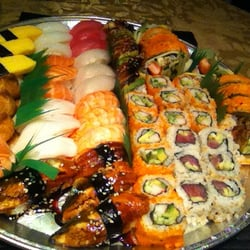 54 sushi combo b with 2 california for Fish market chicago