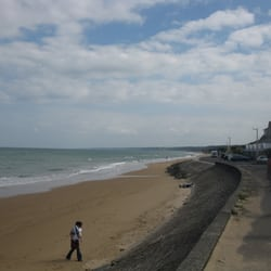 The main strip of Omaha Beach