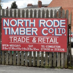 North Rode Timber Co, Congleton, Cheshire East