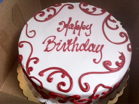Red Velvet Birthday Cupcakes Red Velvet Birthday Cake |