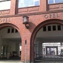 Opel-Portalgebäude, Rüsselsheim, Hessen