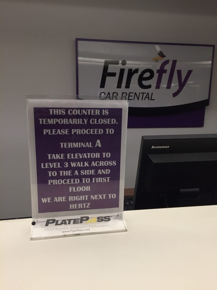 Firefly Car Rental Yelp