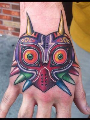 Majoras Mask Tattoo l jpgMajoras Mask Tattoo