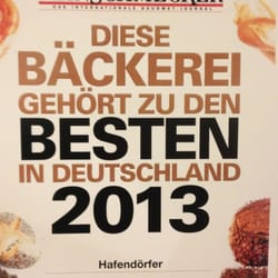 Bäckerei & Konditorei Hafendörfer, Stuttgart, Baden-Württemberg