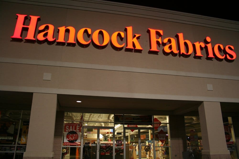 Hancock fabrics fabric stores bartlett memphis tn for Fabric retailers