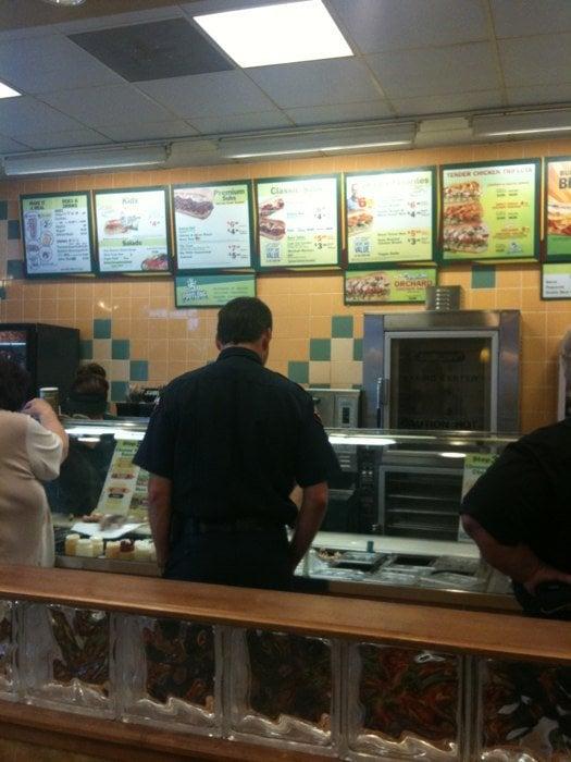 Subway Restaurants Red Bluff Ca