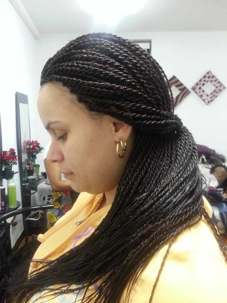 Emmah Hair Braiding - Chicago, IL, United States. Senegalese twists