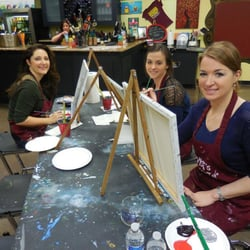 Pinot s palette paint sip louisville ky united for Paint and sip louisville co