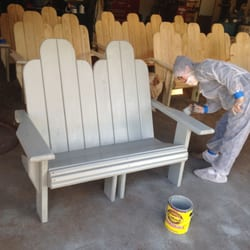 Wimberley Outdoor Living Furniture Wolf San Marcos Tx United States Our Loveseat Stained In