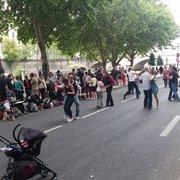 Last day of dancing at Paris Plage 2014.
